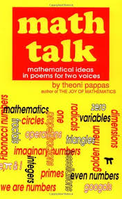 Math Talk Mathematical Ideas In Poems For Two Voices