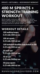 treadmill sprints and strength workout for total body conditioning