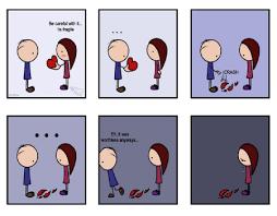 broken heart cartoon fantasy