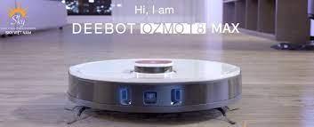 Robot hút bụi lau nhà Ecovacs Deebot T8 Max - phiên bản 2021 - Welcome -  VIET NAM - Magma HDI