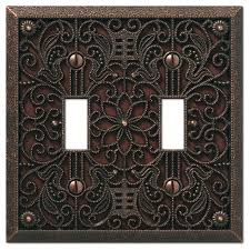 amerelle wall plates filigree cast 2 toggle wall plate traditional switch plates and amerelle wall plates