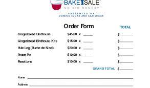 pie order form template bake sale order form under fontanacountryinn com