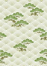Japanese Pattern Amazing Vector Seamless Repetaing Japanese Pattern Illustration Pine