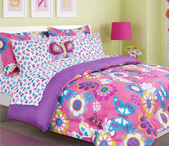... Girls Kids Bedding A Butterfly Bed In Bag Comforter Set Image With  Staggering Sets For Of ...