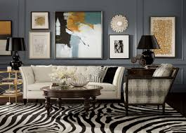 Zebra Living Room Gallery Living Room Ethan Allen