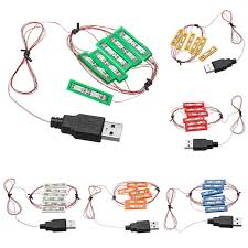 <b>Universal DIY LED</b> Lighting Brick Kit MOC Toy Bricks Toy with USB ...