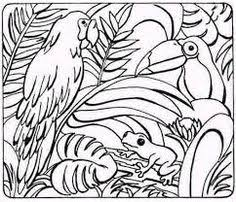 Small Picture Jungle Coloring Pages 11 Printables Pinterest Craft and
