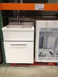 costco 299 utility sink for garage bathroom not first choice but could work
