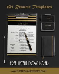 Modern Way To Present A Hardcopy Resume Free Modern Resume Template