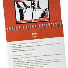 Types Of Flip Chart Vessel Safety Flip Chart