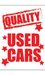 Car Hood Signs For Sale Car Signs Ssw Dealer Supply