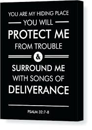 scripture canvas wall art psalm 8 canvas print featuring the mixed media psalm 7 scripture canvas