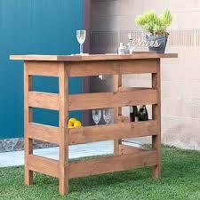 build an easy modern diy outdoor bar