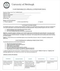 Employee Appraisal Form Hr Appraisal Forms Templates Free Premium Staff Performance