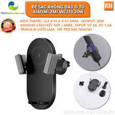 Đế sạc không dây ô tô Xiaomi ZMI WCJ10 20W - Bảo hành 1 tháng - Shop Thế  Giới Điện Máy - Đế Sạc Không Dây