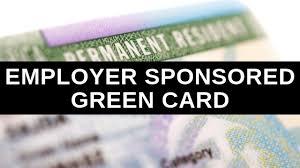 an employer sponsored green card
