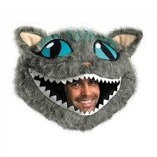 cheshire cat head mask