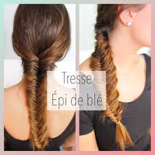Tresse Pi De Bl Fishtail Braid Tutoriel Coiffure Facile