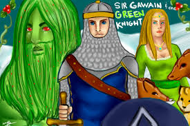 sir gawain and the green knight by cinnamoncitrine on sir gawain and the green knight by cinnamoncitrine
