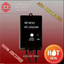 Ge Remote Access Ara Garage Door And Gate Motor Frequency Receiver 433mhz