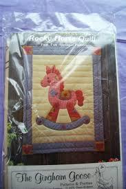 Horse Quilt Pattern Impressive Free Rocking Horse Quilt Pattern Needlecraft Listia
