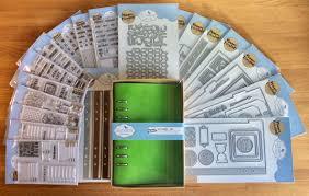 Elizabeth Craft Designs Planner Essentials Range Of Stamps