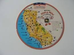 Details About Vintage Murrays Dial A Mile Of California Mileage Calculator 1981
