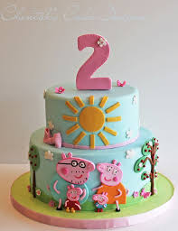 Peppa Birthday Cakes