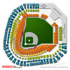 Rangers Seating Chart Rangers Stadium Seating Chart Best Seat 2018