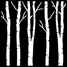 Wall Tree Stencil Designs Birch Tree Stencil Tree Stencil Stencil Patterns Stencils
