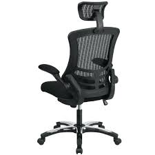 high end office chairs. High Back Office Chair Black Mesh With Headrest End Furniture Chairs
