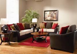Red Black And Cream Living Room Stylish Idea Red Black And Brown Living Room Ideas 11 Room