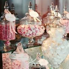 Decorated Candy Jars Glass Candy Jars For Wedding Decoration Canister Storage Bottle 29