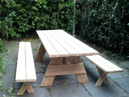 Picnic Table Cushions Dining Table