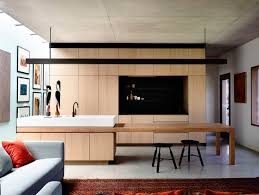 rob kennon architects / in situ house, toorak. Kitchen Island ...