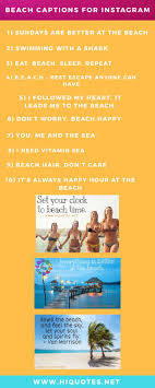 Beach Captions For Instagram A Ultimate List