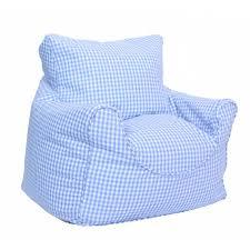 beanbag blue gingham beanchair cover childrens bedding kids bean bag chairs uk kids bean bag chairs