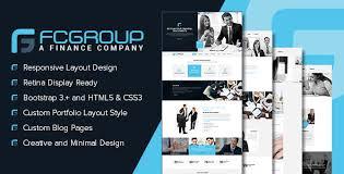 Free Html5 Website Templates Adorable Finance Group Multi Purpose HTML48 Website Template By Designingmedia