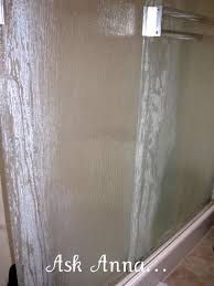 cleaning glass shower doors best of cleaning hard water stains f glass shower doors shower screens
