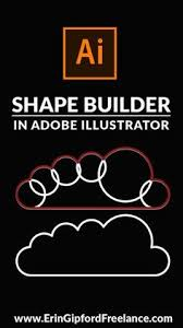 learn how to bine multiple shapes into one single path using the shape builder tool in