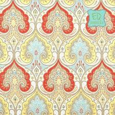 blue and yellow toile curtains curtain panels kravet latika paisley in festival red blue yellow tan linen curtains 84l x blue and yellow toile kitchen