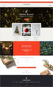 Free Christmas Website Templates Get Your Customers Into The Holiday Shopping Spirit With