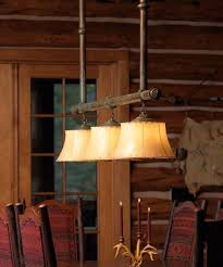 rustic chandelier for kitchen