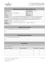 Best Photos Of Project Management Meeting Agenda Template