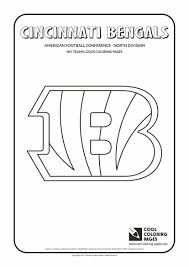 nfl logo coloring page free printable pages nfl