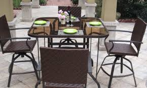 Indoor Outdoor Wicker Patio Furniture Set Mocha