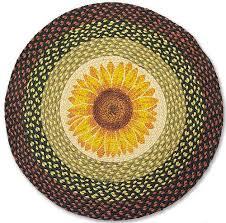 country rug sunflower round rug braided kitchen rug round kitchen rugs uk