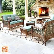 Customize Your Patio Set Black Wicker Patio Table Set Outdoor