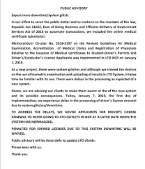 Ltos New Online Medical Certificate Submission Causing Delays