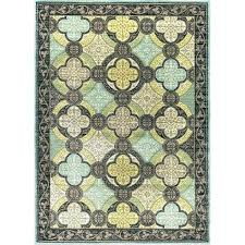 yellow area rug blue and green rugs 5 x 7 medium target com awesome threshold 7x10